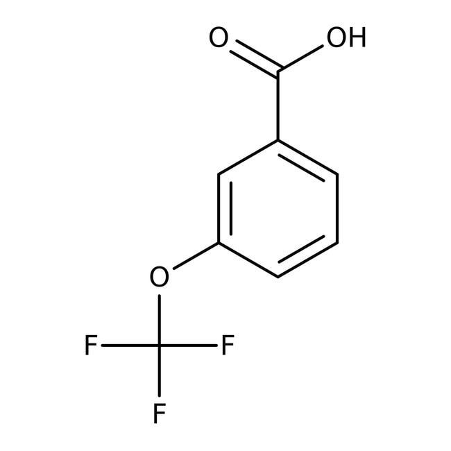 3-(Trifluoromethoxy)benzoic acid, 98%, ACROS Organics™ 25g 3-(Trifluoromethoxy)benzoic acid, 98%, ACROS Organics™