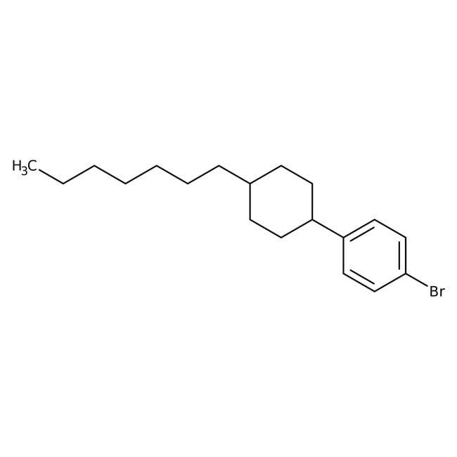 Alfa Aesar™trans-4-(4-n-Heptylcyclohexyl)benzoic acid, 98%