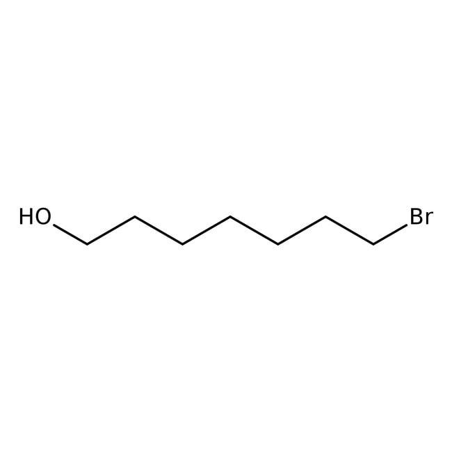 Alfa Aesar™7-Bromo-1-heptanol, 96%