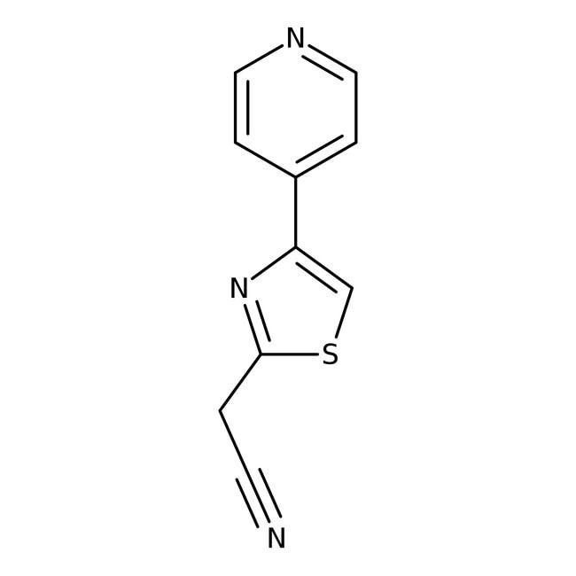 Alfa Aesar™4-(4-pyridyl)-2-thiazoleacétonitrile, 97% 1g Alfa Aesar™4-(4-pyridyl)-2-thiazoleacétonitrile, 97%