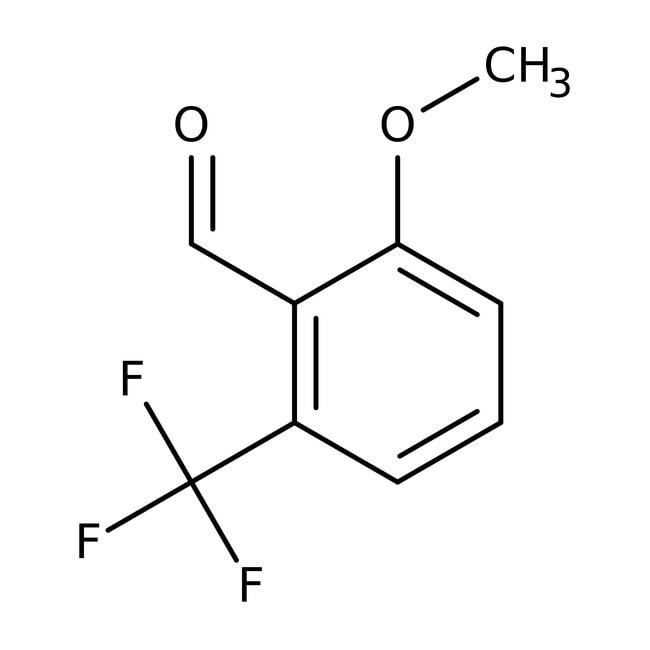 Alfa Aesar™2-Methoxy-6-(trifluoromethyl)benzaldehyde, 97% 1g Alfa Aesar™2-Methoxy-6-(trifluoromethyl)benzaldehyde, 97%