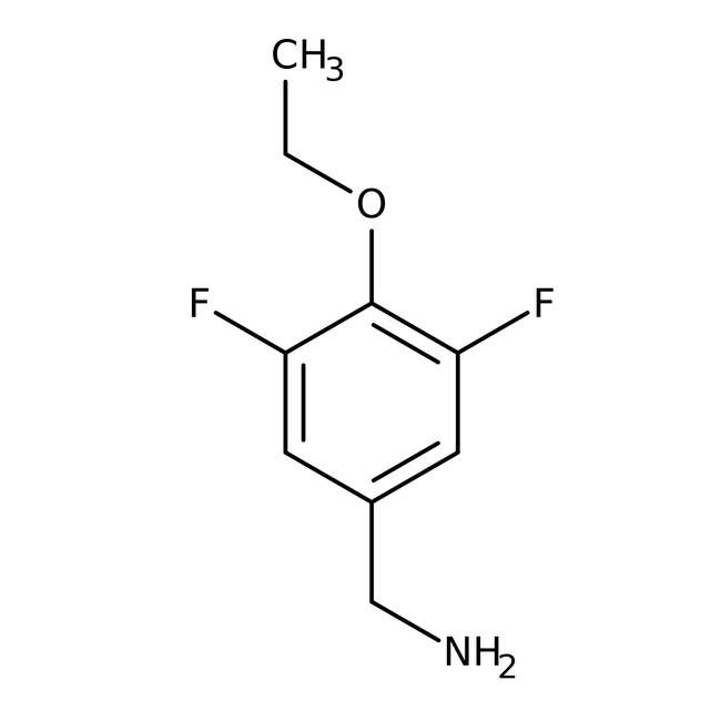 Alfa Aesar™4-Ethoxy-3,5-difluorobenzylamine, 97% 1g Alfa Aesar™4-Ethoxy-3,5-difluorobenzylamine, 97%