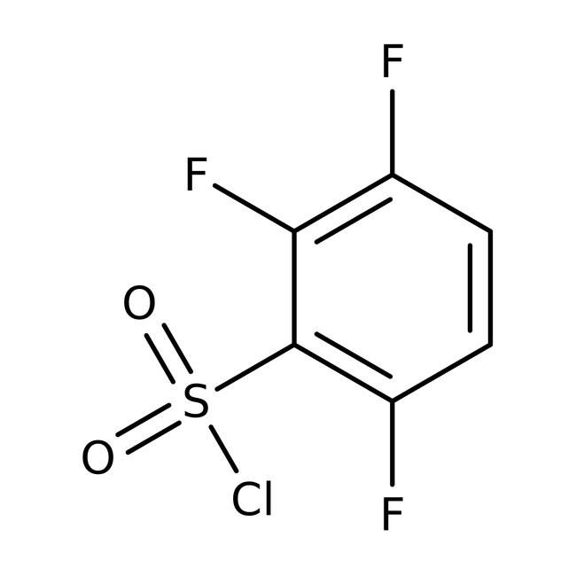 Alfa Aesar™Chlorure de 2,3,6-trifluorobenzènesulfonyle, 97% 1g Alfa Aesar™Chlorure de 2,3,6-trifluorobenzènesulfonyle, 97%