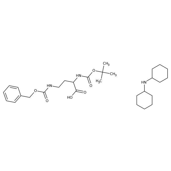 Alfa Aesar  (R)-4-Benzyloxycarbonylamino-2-(Boc-amino)butyric acid dicyclohexylammonium salt, 98%
