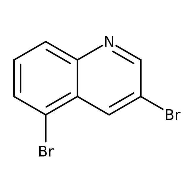 Alfa Aesar™3,5-Dibromoquinoline, 96%