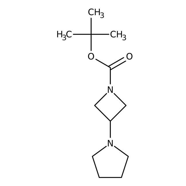Alfa Aesar™1-(1-Boc-3-azetidinyl)pyrrolidine, 94% 250mg Alfa Aesar™1-(1-Boc-3-azetidinyl)pyrrolidine, 94%
