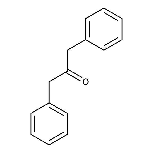 1,3-diphénylacétone, 99%, ACROS Organics™ 25g; flacon en verre 1,3-diphénylacétone, 99%, ACROS Organics™