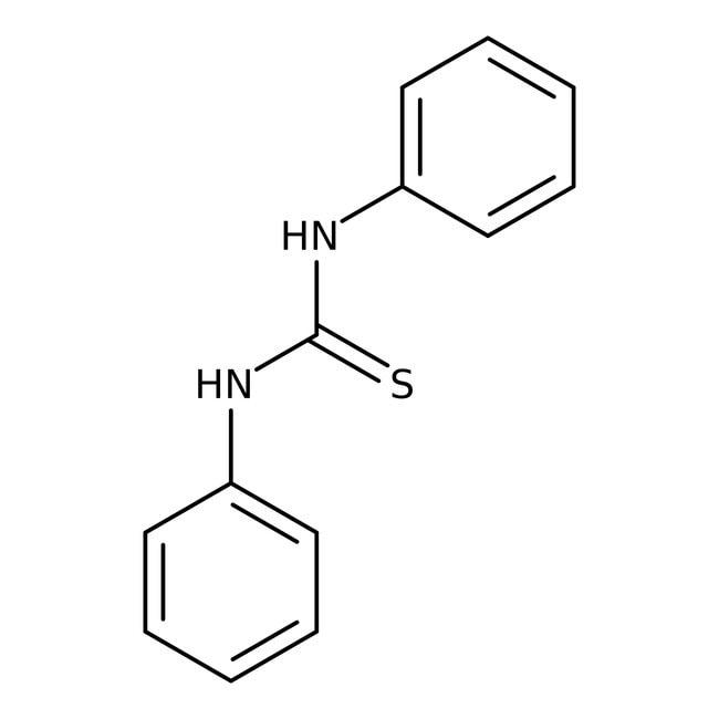 Thiocarbanilide, 98%, ACROS Organics™ 500g; Plastic bottle Thiocarbanilide, 98%, ACROS Organics™