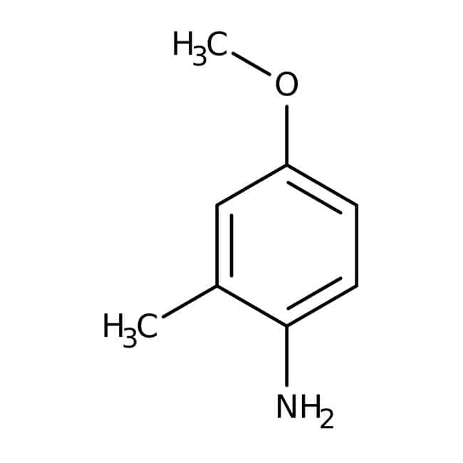 Alfa Aesar™4-Methoxy-2-methylanilin, 98% 5g Alfa Aesar™4-Methoxy-2-methylanilin, 98%