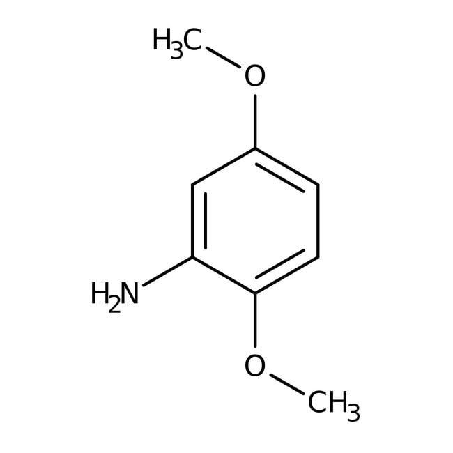 Alfa Aesar™2,5-diméthoxyaniline, 99% 250g Alfa Aesar™2,5-diméthoxyaniline, 99%