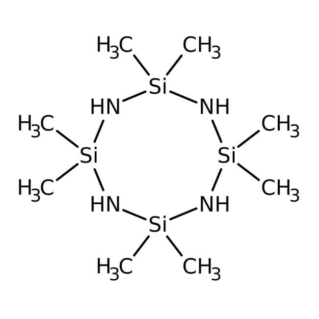 2,2,4,4,6,6,8,8-Octamethylcyclotetrasilazane, 95%, ACROS Organics