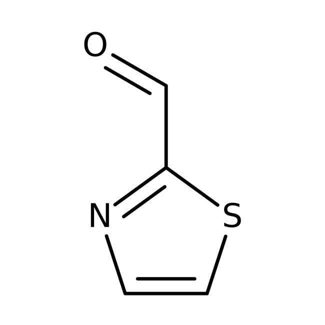 2-Thiazolecarboxaldehyde, 98%, ACROS Organics™ 5g; Glass bottle 2-Thiazolecarboxaldehyde, 98%, ACROS Organics™