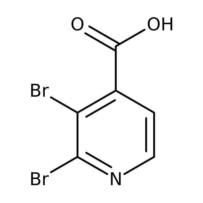 Alfa Aesar™Acide carboxylique de 2,3-Dibromopyridine-4-, 97% 1g Alfa Aesar™Acide carboxylique de 2,3-Dibromopyridine-4-, 97%