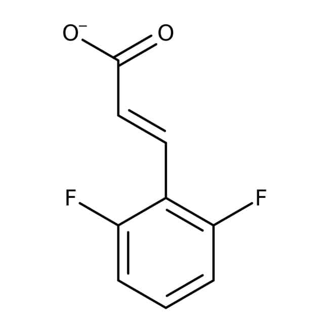 Alfa Aesar™Ácido 2,6-difluorocinámico, 98% 1g Alfa Aesar™Ácido 2,6-difluorocinámico, 98%