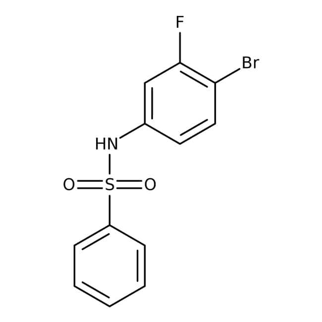 Alfa Aesar™N-(4-Bromo-3-fluorophenyl)benzenesulfonamide, 97% 250mg Ver productos