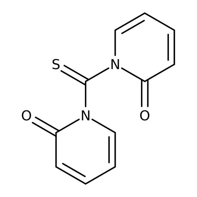 Alfa Aesar™1,1'-Thiocarbonyldi-2(1H)-pyridone, 95% 1g Alfa Aesar™1,1'-Thiocarbonyldi-2(1H)-pyridone, 95%