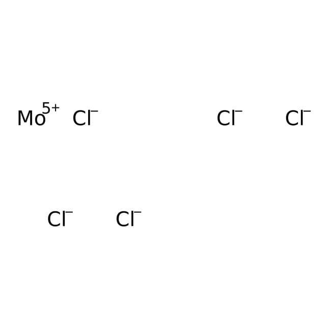 Chlorure de molybdène(V), 95%, ACROS Organics™ 100g; flacon en verre Chlorure de molybdène(V), 95%, ACROS Organics™