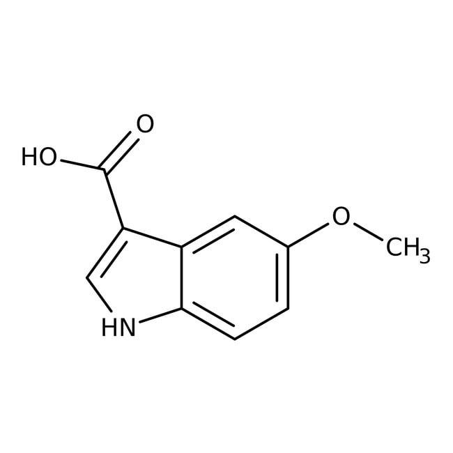 Alfa Aesar™5-Methoxyindole-3-carboxylic acid, 97% 250mg Alfa Aesar™5-Methoxyindole-3-carboxylic acid, 97%