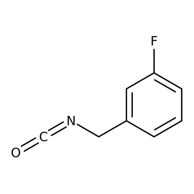 3-Fluorobenzyl isocyanate, 98%, ACROS Organics™