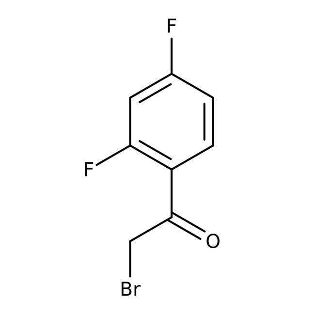 2-Bromo-2',4'-difluoroacetophenone, 95%, ACROS Organics™ 5g 2-Bromo-2',4'-difluoroacetophenone, 95%, ACROS Organics™