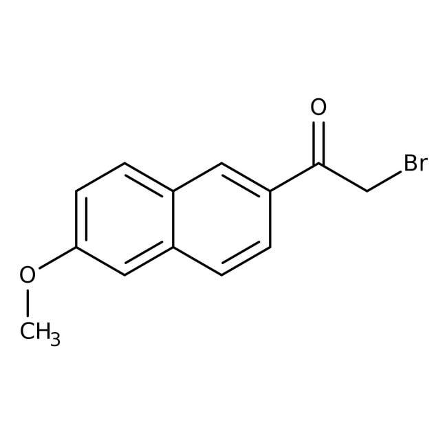 2-(Bromoacetyl)-6-methoxynaphthalene, 96%, ACROS Organics™ 5g 2-(Bromoacetyl)-6-methoxynaphthalene, 96%, ACROS Organics™