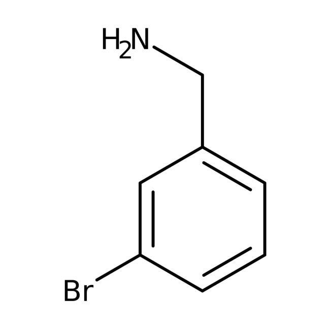3-Bromobenzylamine, 95%, ACROS Organics™ 1g; Glass bottle 3-Bromobenzylamine, 95%, ACROS Organics™