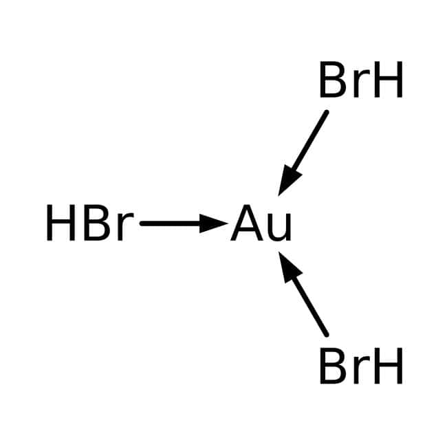 Alfa Aesar  Gold(III) bromide, Premion , 99.99% (metals basis), Au 44.6% min