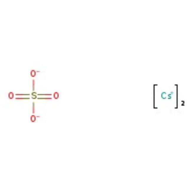 Cesium sulfate, 99+%, pure, ACROS Organics™ 100g Cesium sulfate, 99+%, pure, ACROS Organics™