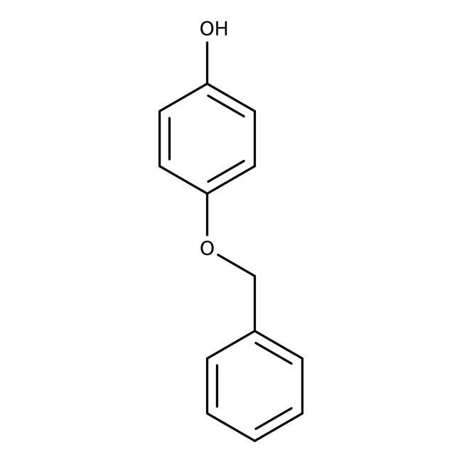 4-(Benzyloxy)phenol, 98%, ACROS Organics™