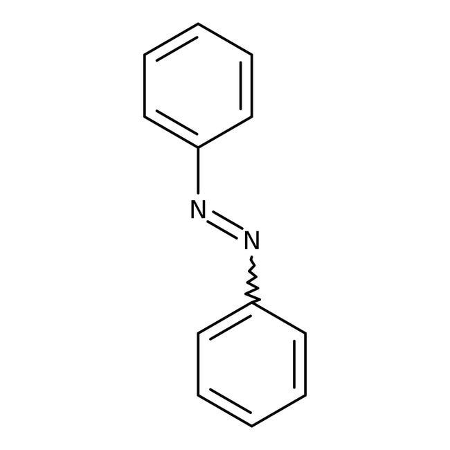 Azobenzene, 98%, ACROS Organics™ 250g; Glass bottle Azobenzene, 98%, ACROS Organics™