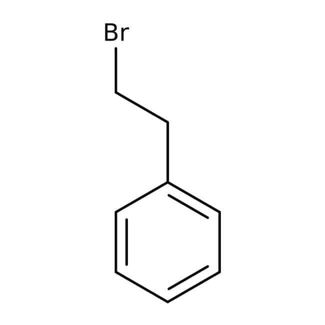 (2-Bromoethyl)benzene, 98%, ACROS Organics™ 100mL; Glass bottle (2-Bromoethyl)benzene, 98%, ACROS Organics™