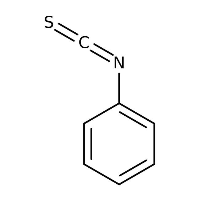 Phenyl isothiocyanate, 98%, ACROS Organics™ 2.5Kg; Glass bottle Phenyl isothiocyanate, 98%, ACROS Organics™