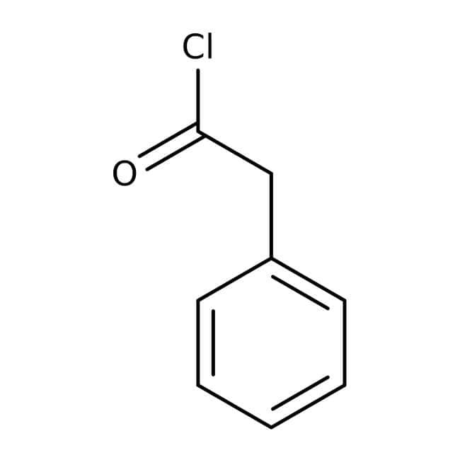 Alfa Aesar™Phenylacetyl chloride, 98% 500g Alfa Aesar™Phenylacetyl chloride, 98%
