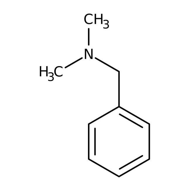 N,N-Dimethylbenzylamine, 98%, ACROS Organics
