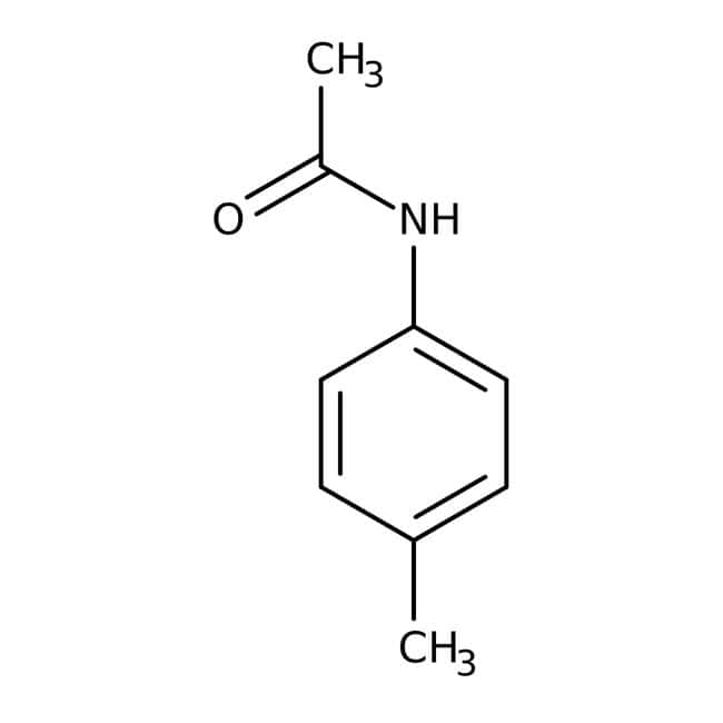 Alfa Aesar™4'-Methylacetanilide, 98+% 25g Alfa Aesar™4'-Methylacetanilide, 98+%