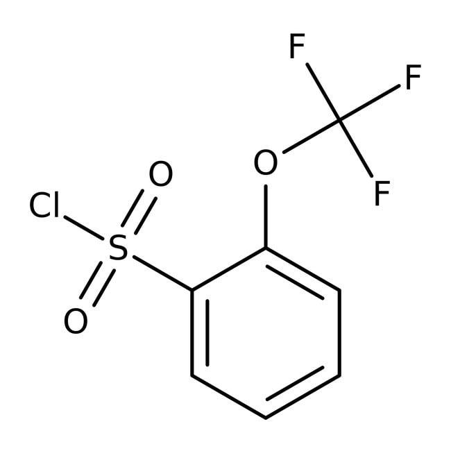 2-(Trifluormethoxy)benzol-1-Sulfonylchlorid, 97%, Maybridge 25g 2-(Trifluormethoxy)benzol-1-Sulfonylchlorid, 97%, Maybridge