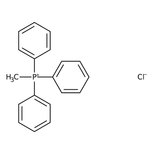 Alfa Aesar™Methyltriphenylphosphonium chloride, 97% 1g Alfa Aesar™Methyltriphenylphosphonium chloride, 97%