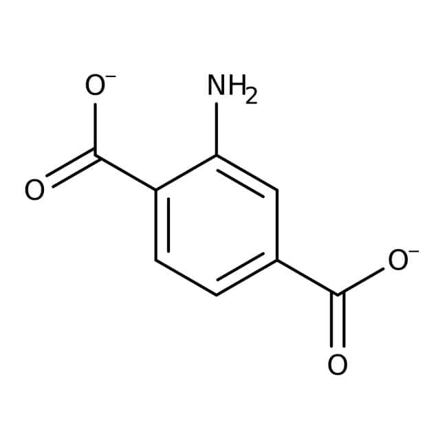 2-Aminoterephthalic acid, 99%, Acros Organics™ Glass bottle; 25g 2-Aminoterephthalic acid, 99%, Acros Organics™