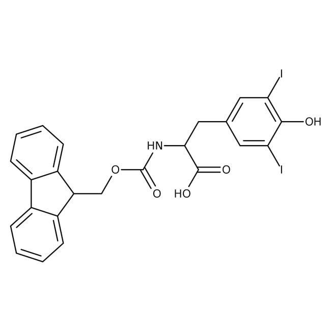 Alfa Aesar™N-Fmoc-3,5-diiodo-L-tyrosine, 98% 1g Alfa Aesar™N-Fmoc-3,5-diiodo-L-tyrosine, 98%