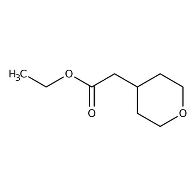 Ethyl tetrahydropyran-4-ylacetate, 97%, Maybridge™ Amber Glass Bottle; 5g Ethyl tetrahydropyran-4-ylacetate, 97%, Maybridge™