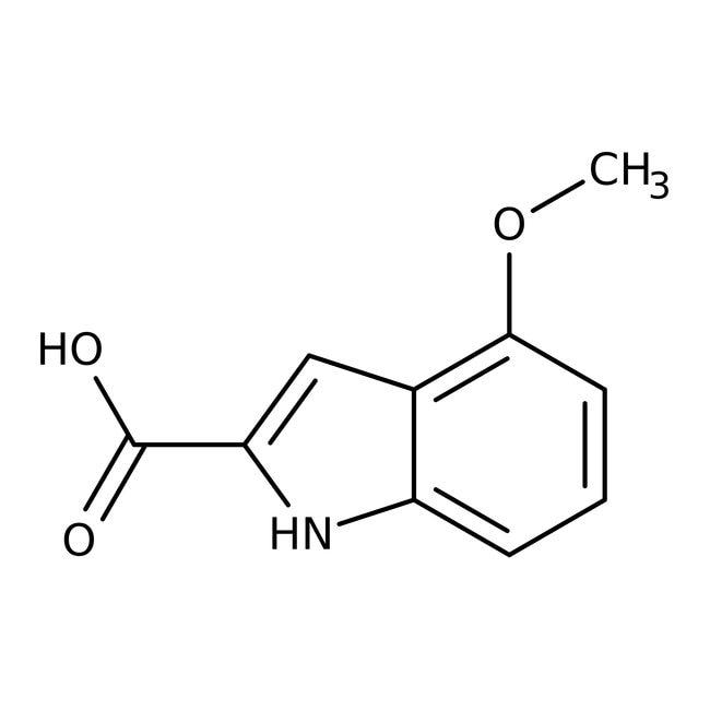 Alfa Aesar™4-Methoxyindole-2-carboxylic acid, 97+% 5g Alfa Aesar™4-Methoxyindole-2-carboxylic acid, 97+%