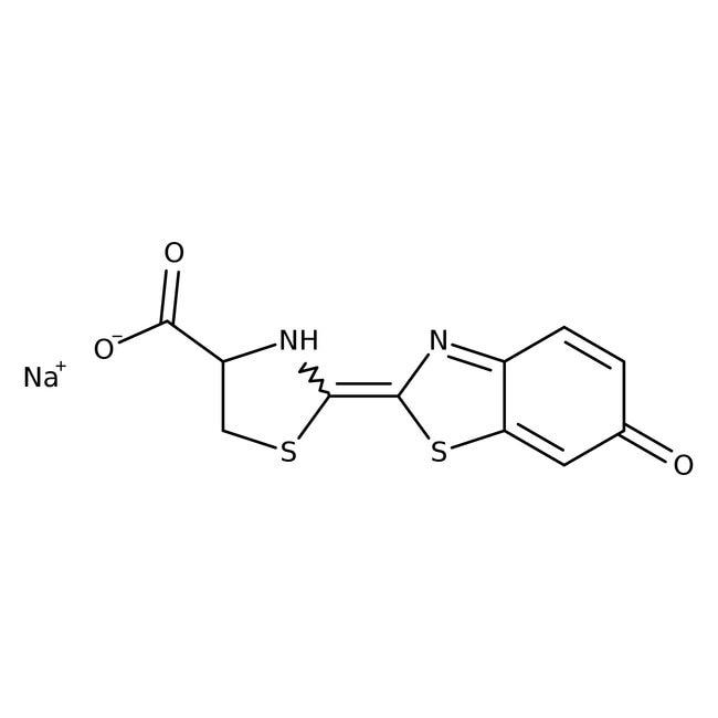 D-Luciferin sodium salt monohydrate, 98+%, ACROS Organics
