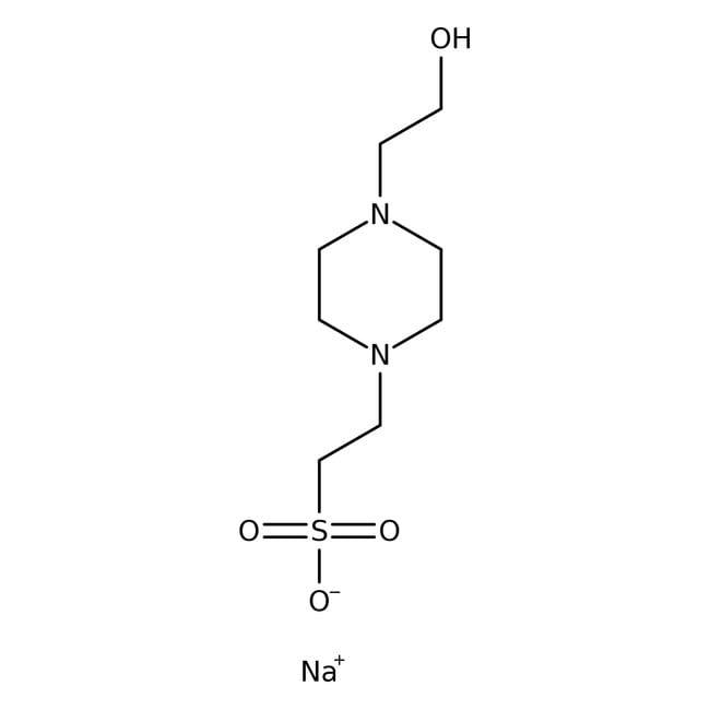HEPES Hemisodium Salt, MP Biomedicals™