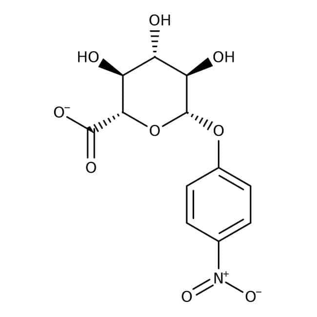 4-Nitrophenyl-beta-D-glucuronide, 99+%, ACROS Organics™ 1g 4-Nitrophenyl-beta-D-glucuronide, 99+%, ACROS Organics™
