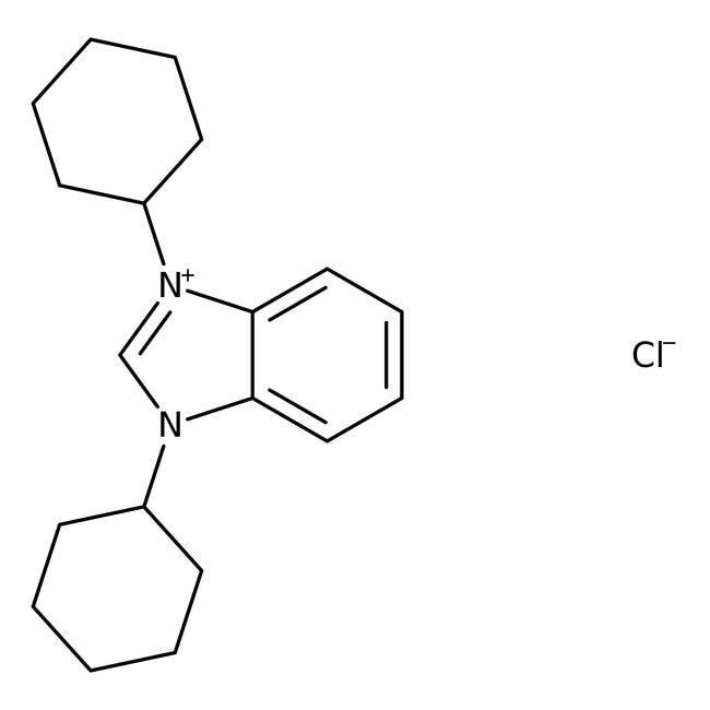 1,3-Dicyclohexylbenzimidazolium chloride, 95%, ACROS Organics™