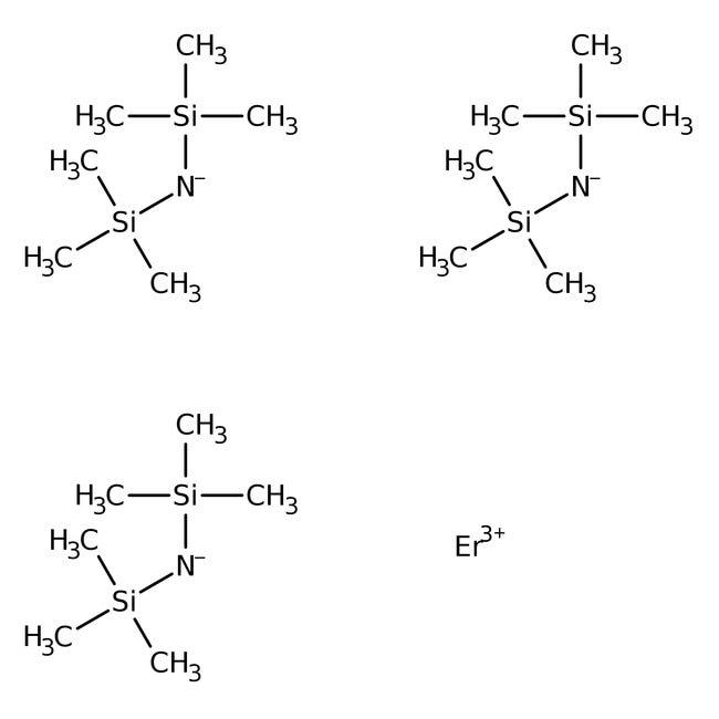 Tris[N,N-bis(trimethylsilyl)amide]erbium(III), 98%, Acros Organics