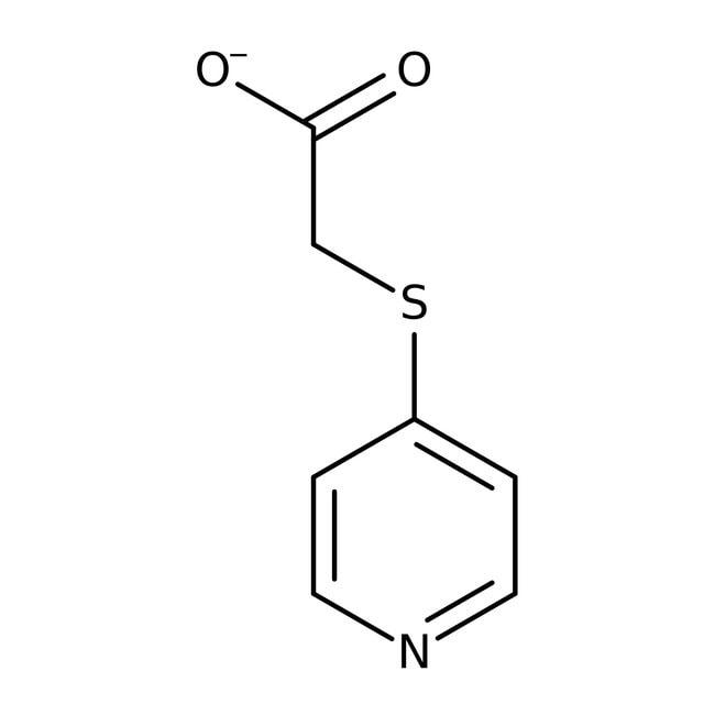 Alfa Aesar  (4-Pyridylthio)acetic acid, 98%