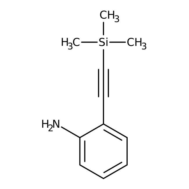 2-[(Trimethylsilyl)ethynyl]aniline, 97%, Alfa Aesar™