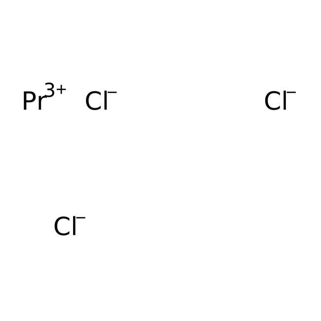 Alfa Aesar™Praseodym(III)-chlorid, ultratrocken, 99.95% (REO) 1g; Ampulle Alfa Aesar™Praseodym(III)-chlorid, ultratrocken, 99.95% (REO)