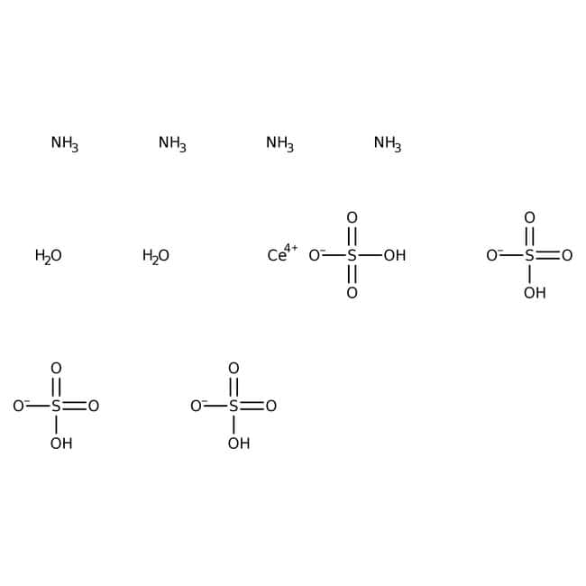 Ammonium cerium(IV) sulfate dihydrate, 99+%, extra pure, ACROS Organics